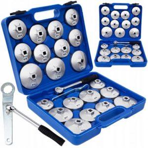 Set ključeva za filtere ulja 21 djelni