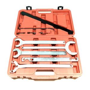 Set alata za skidanje remenice ventilatora –kompresora klime. VISKO