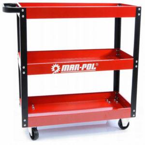 MAR-POL servisna kolica za radione sa tri police