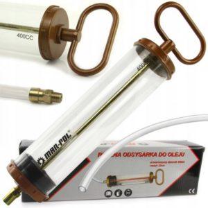 MAR-POL Ručni usisivač za ulje kapaciteta 400 ml.