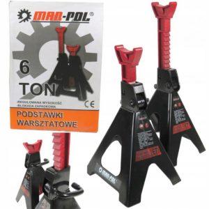 Set MAR-POL M80103 profesionalnih 6T postolja za automobile