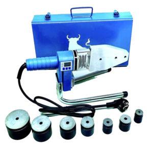 Aparat za zavarivanje PP-R cijevi 1500W (set 16-20-25-32-40-50-63)