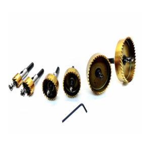 Set od 6 krunskih pila za drvo, knauf, plastiku, tanki lim, inox, PVC