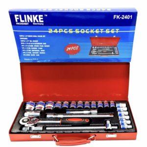 FLINKE GERMANY 24 dijelova set šesterokutnih gedora