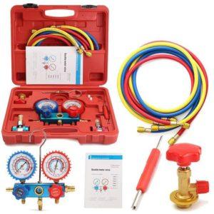 Univerzalno korisni komplet za mjerenje i punjenje rashladnih sistema