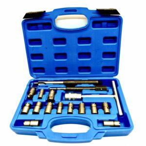 Set alata za čišćenje dosjeda dizelskih injektora-DIZNE, set od 16 kom