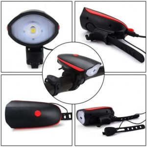 Prednje USB punjivo LED svjetlo za bicikl sa elektronskom trubom