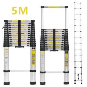 Teleskopske ljestve maksimalne dužine 5m