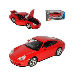 BURAGO 1:18 METALNI AUTOMOBIL PORSCHE 911 CARRERA 4