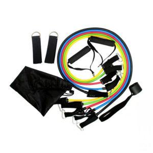 11 – dijelni set otpornih guma za trening