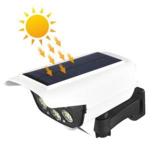 LED solarna svjetiljka sa senzorom i lažna nadzorna kamera